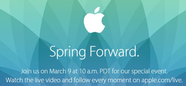 apple evento 9 marzo