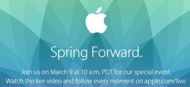 apple evento 9 marzo