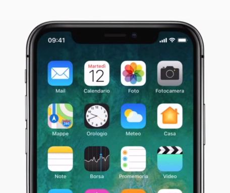 Apple: iPhone X completamente wireless; senza cavi!