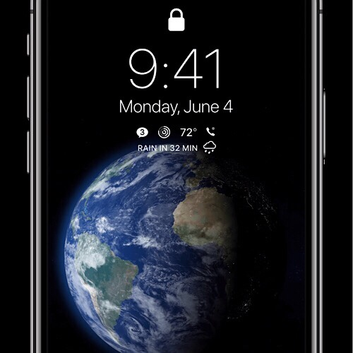 Ios 12 concept lock screen