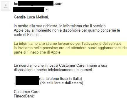 fineco-apple-pay-risposta-customer