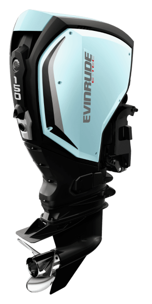 Evinrude E-TEC G2 150 ljusblå
