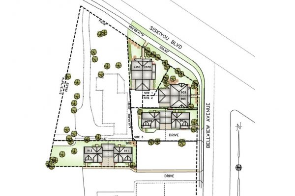 B-Multi-Family-Projects-2300 SISKIYOU-BELLVIEW-UNITS-SITEPLAN