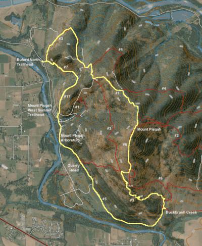 Meadowlark prairie · new map! Mount Pisgah West Loop Hike Hiking In Portland Oregon And Washington