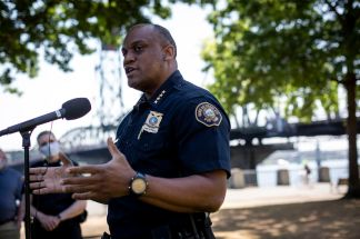 Portland Police Chief Urges Rioters to Stop the Violence