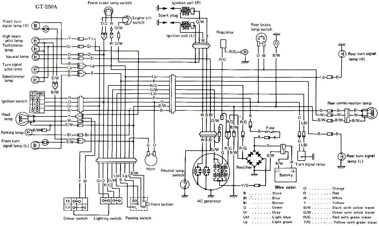 Honda 250 Dirt Bike Wiring Diagrams Honda Free Engine