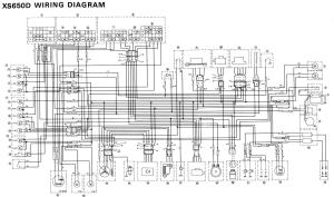 Need a wiring diagramhelp for '77 XS750 Triple