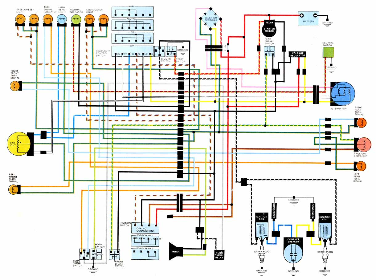 cb360 wiring harness diagram   28 wiring diagram images