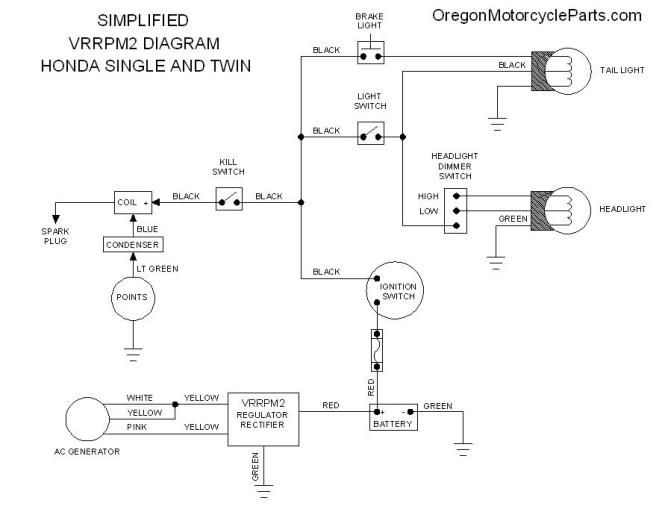 rectifier wiring diagram wiring diagram regulator rectifier lamberts bikes