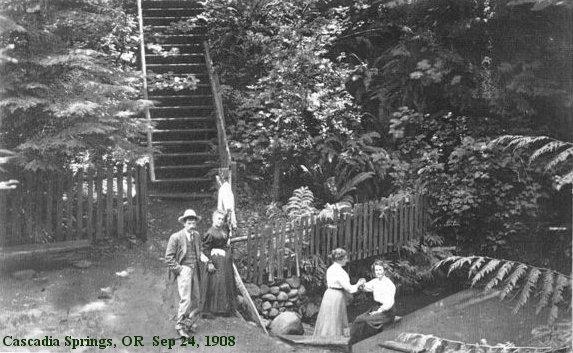 cascadia springs in 1908