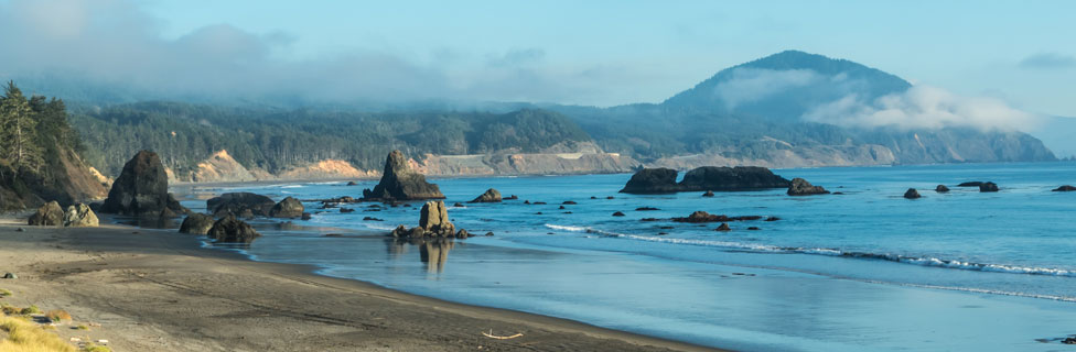 Section 8 of the oregon coast trail begins at the coquille river bridge and continues 40.5 miles to humbug mountain state park. Humbug Mountain State Park Campground