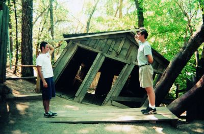 Back Yard The Oregon Vortex And Location Of The House Of