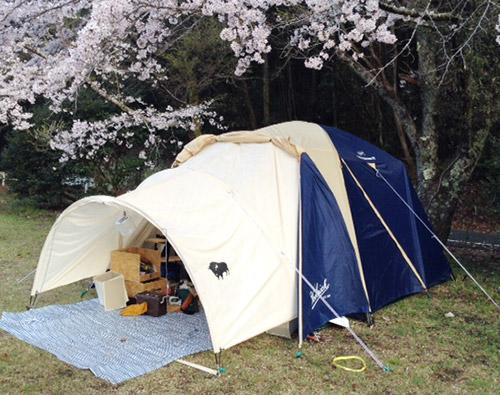 テント前室 自作