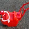 車輪付き灯油タンク