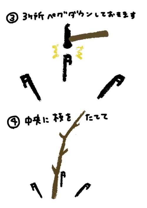 枝スタンドの作り方2