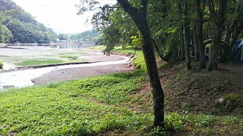 岩倉ダムキャンプ場