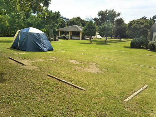 若洲l公園キャンプ場