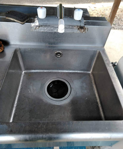 12坊温泉オートキャンプ場洗い場