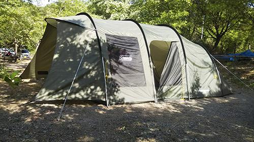 モミの木キャンプ場でキャンプ