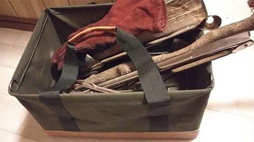 カインズ折り畳みバッグ