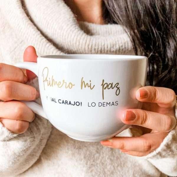 amor propio, taza, café