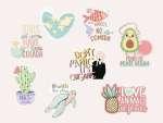 Stickers VEGAN