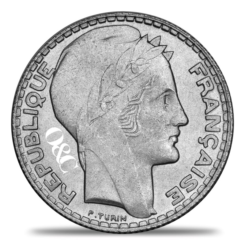 Pice 10 Francs Turin Avec Or Amp Change