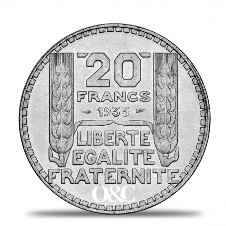 Pice 20 Francs Turin Avec Or Amp Change