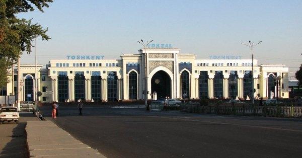 Ташкентский железнодорожный вокзал :: История Ташкентского ...