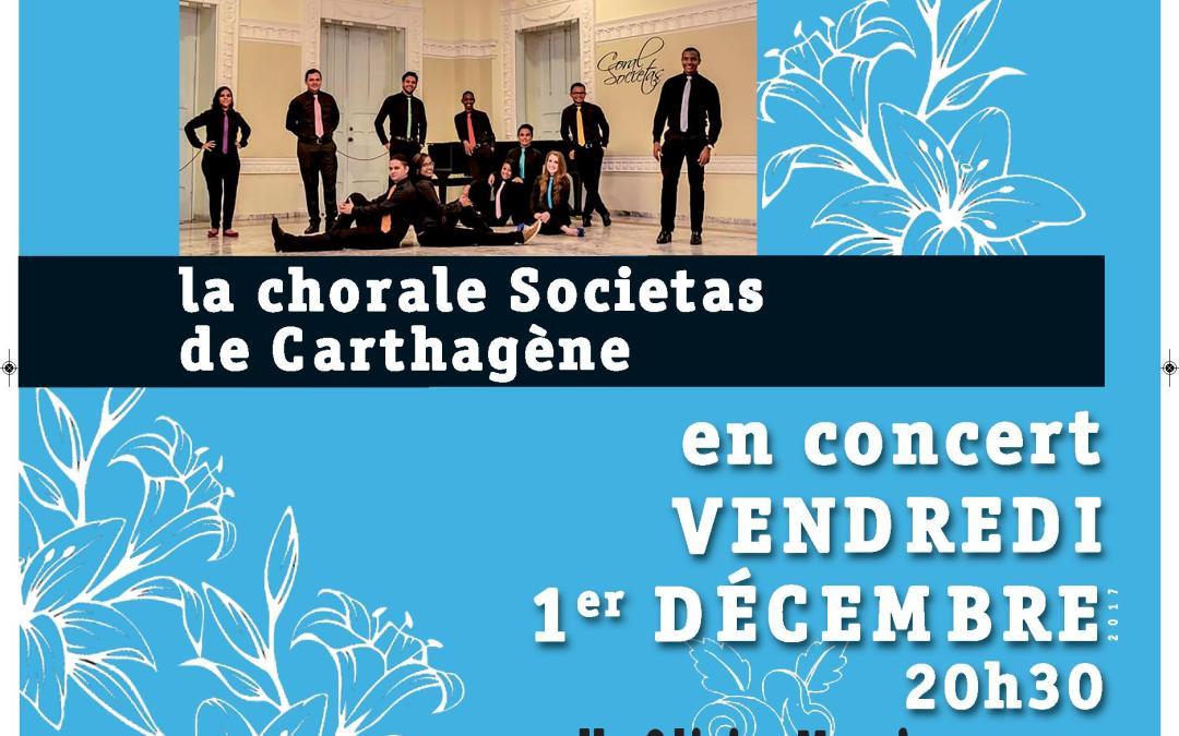 La chorale Societas en concert salle Olivier Messiaen