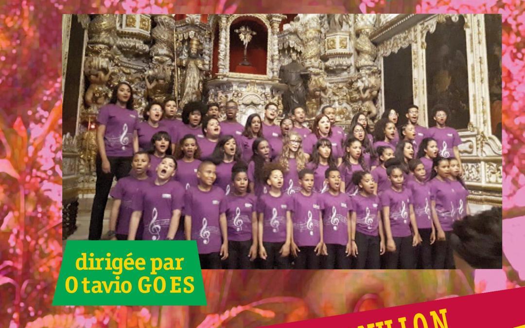 Concert de la chorale du mouvement pro-crianças jeudi 16 mai 19h30