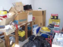 Workbench before organizing