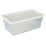 In Praise of Clear Plastic Shoe Boxes