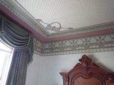 Ceiling corner detail