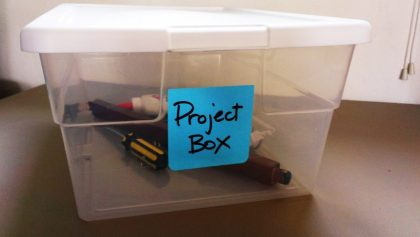 Unfinished Project Box