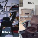 Before and after photos cure clutter amnesia!