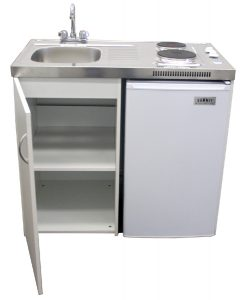 combo sink stove fridge