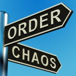 Organizing on the Edge of Chaos