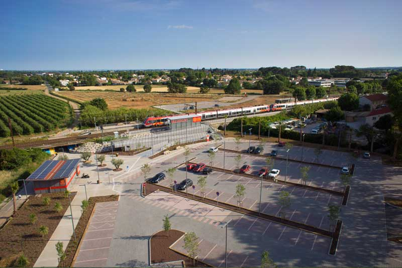 Pôle d'Echanges Multimodal de Baillargues