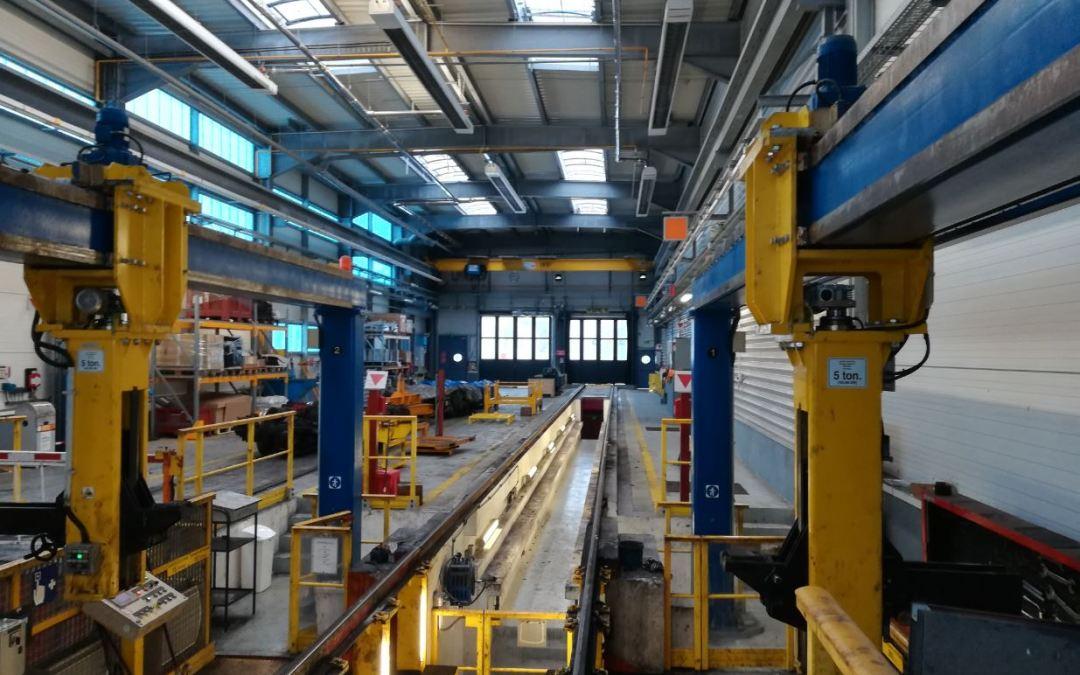Adaptation du site de maintenance des trains de la ligne 13 à Châtillon