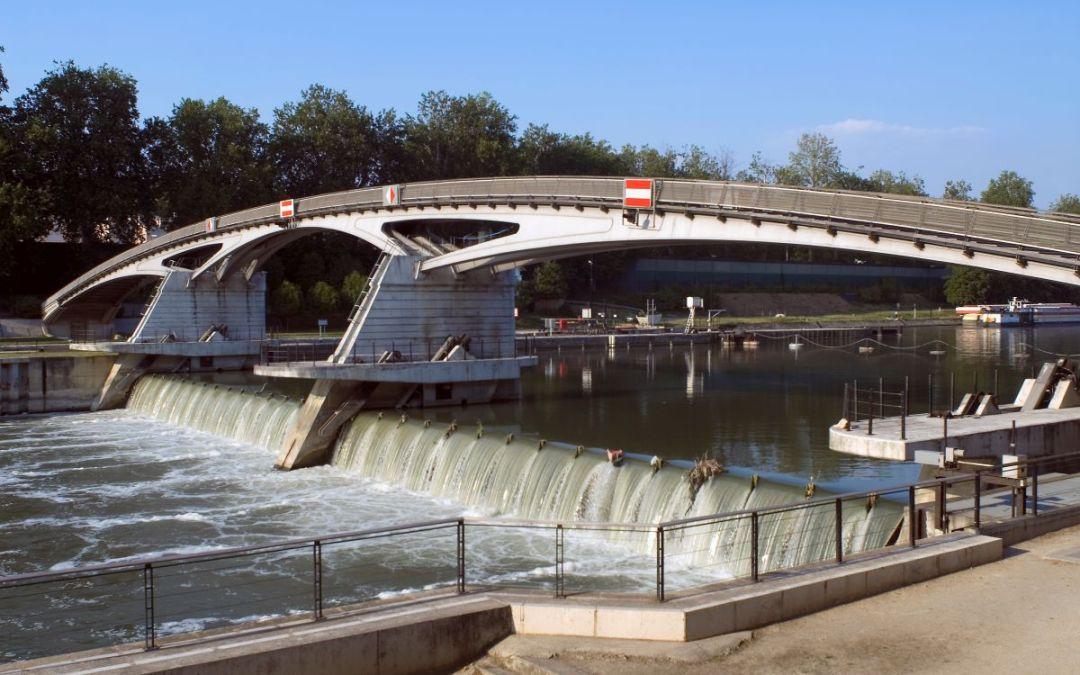 Modernisation des barrages de la Marne
