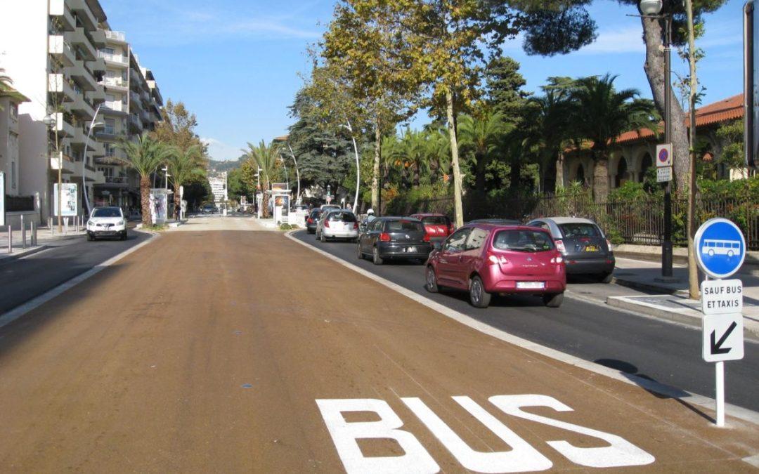 Ligne de Bus à Haut Niveau de Service Cannes-Le Cannet-Mandelieu la Napoule