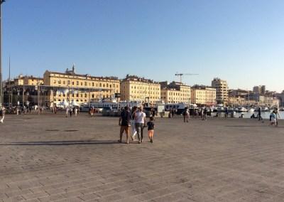 Semi-piétonnisation Vieux Port Marseille