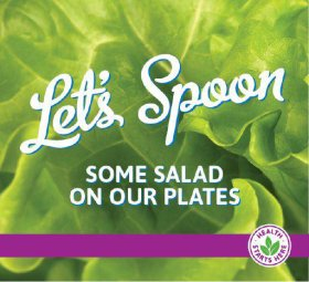 lets spoon some salad