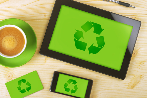 recycling old tech devices