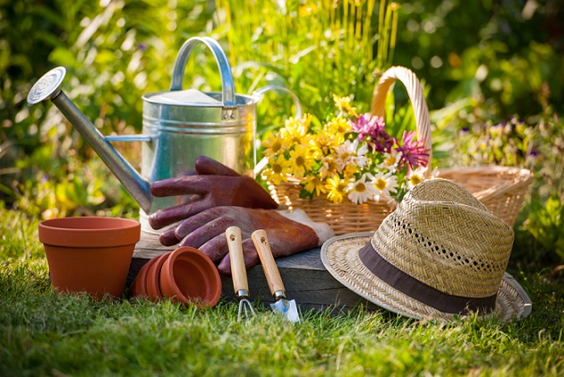 container gardening tools