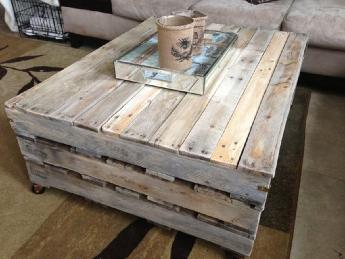 diy coffee table instructions