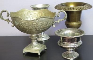 Vintage Metal Vessels