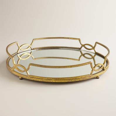 Mirrored Trays