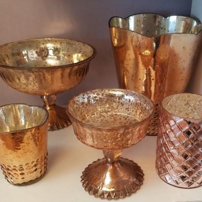 Rose Gold Mercury Vessels